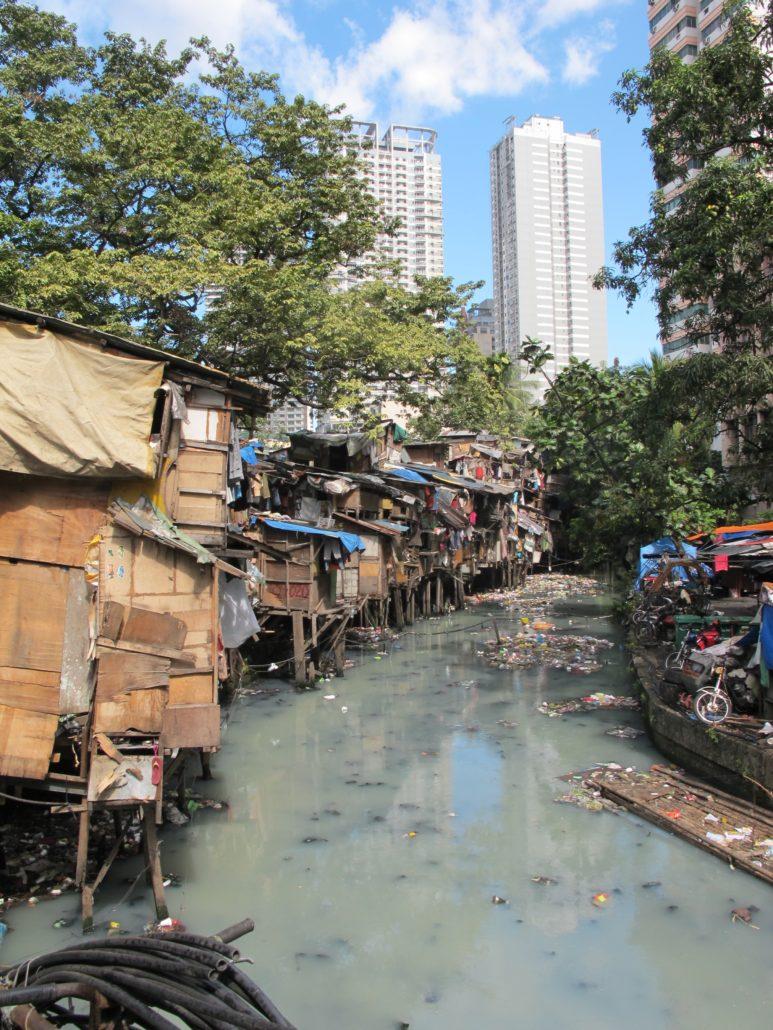 Armut mitten in der Stadt
